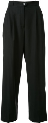 Chanel Pre Owned 1998 Tailored Straight-Leg Trousers