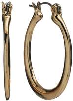 Croft & Barrow Gold Tone U-Hoop Earrings