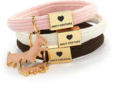 Scottie-Charm Hair Elastic Trio