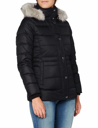 Tommy Hilfiger Women's TH ESS TYRA Down JKT with Fur Jacket