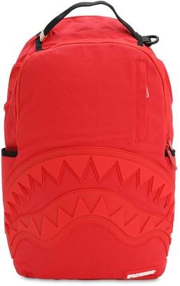 Sprayground Shark Canvas Backpack