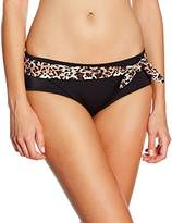 Marie Meili Women's Santiago Hipster Animal Print Bikini Bottoms,(Manufacturer Size:X-Small)