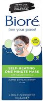 Red Carpet Bioré® Self-Heating One Minute Mask 4s