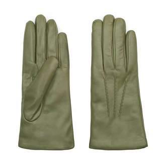 Dalgado Handmade Nappa Leather Gloves Green Florentina