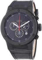 Esprit EL101281F04 - Men's Watch, Leather, Black Tone