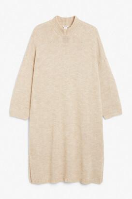 Monki Oversized long knit dress