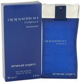 Ungaro Apparition Cobalt by Eau De Toilette Spray for Men (3 oz)