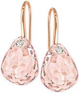 Swarovski Multi-Faceted Crystal Drop Earrings