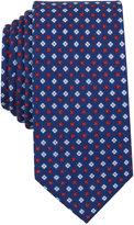 Bar III Men's Carson Geo-Print Skinny Skinny Tie, Only at Macy's