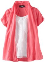Amy Byer Girls 7-16 Lace Cozy Top