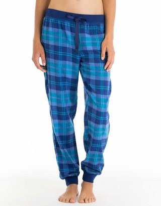 Joe Boxer Women's Sweet Dreams Plaid Flannel Pant Sleepwear