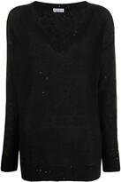 Brunello Cucinelli sequin-embellished loose-fit jumper