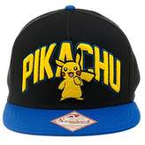 Bioworld Pokemon Pikachu Snapback Hat Fits Most- Pikachu Hat