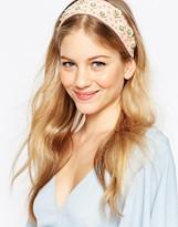 Asos Sequin Flower Headband