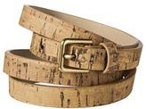 Merona Cork Skinny Belt - Tan