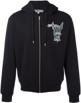McQ by Alexander McQueen hooded print jacket - men - Cotton - XL