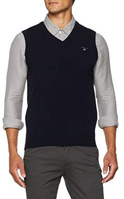 Gant Men's Lambswool Slipover Jumper,(Size: M)