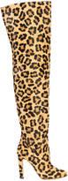Francesco Russo leopard printed boots