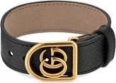 Gucci Bracelet in leather with Double G