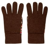 Paul Smith Striped Knit Gloves