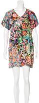See by Chloe Silk Floral Print Dress