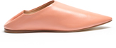 Acne Studios Amina backless leather slipper shoes