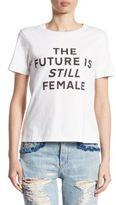 Jonathan Simkhai The Future Is Still Female Pima Cotton Tee