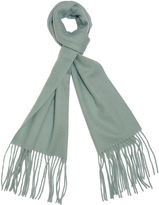 One Kings Lane Cashmere-Blend Waterweave Scarf, Spa