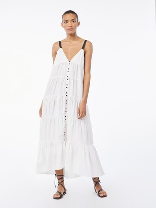 Frame Tiered Utility Maxi Dress