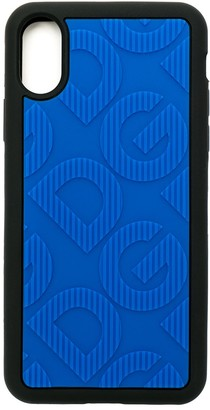 Dolce & Gabbana logo embossed iPhone X/XS case