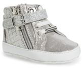 MICHAEL Michael Kors Infant Girl's Rio High Top Crib Shoe