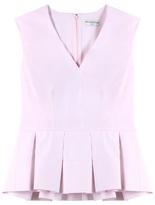 Balenciaga Peplum Cotton Top