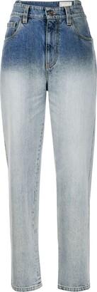 Brunello Cucinelli Low Rise Straight Leg Jeans