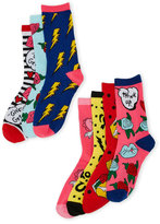 Betsey Johnson 7-Pack Fashion Crew Socks Gift Box