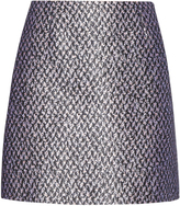Balenciaga Tweed-jacquard mini skirt