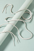 Anthropologie Selmi Braided Wrap Belt
