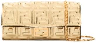 Fendi Baguette Continental Chain Wallet