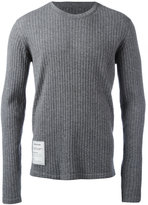 Maison Margiela Re-edition ribbed top - men - Spandex/Elastane/Virgin Wool - S