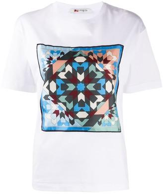 Ports 1961 geometric print T-shirt