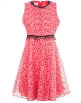 Giamba Pleated Trim Dress