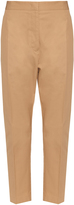 Jil Sander Attila cotton-gabardine trousers