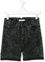 Andorine - Acid Fade denim shorts - kids - Cotton/Polyester/Spandex/Elastane - 14 yrs