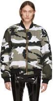 Alyx White Camo Outerwear Pilot Jacket