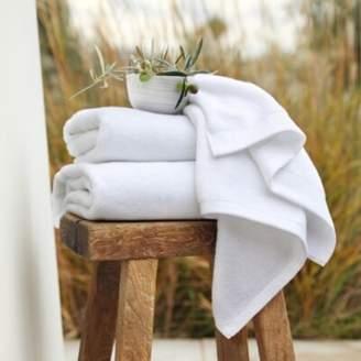 The White Company Cloud-Soft Face Cloth, White, Face Cloth