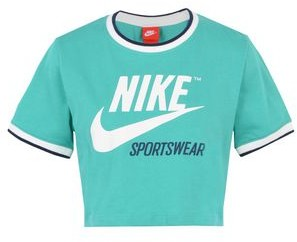 Nike TOP CROP RIB ARCHIVE T-shirt