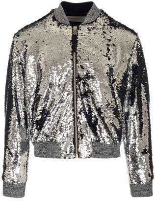 Golden Goose Sequinned Zipped Bomber Jacket