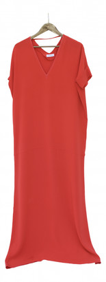 CNC Costume National Red Synthetic Dresses