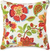 Bed Bath & Beyond 17-Inch Square Throw Pillow in Telfair Red