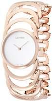 Calvin Klein Women's Quartz Watch with Black Dial Analogue Display Quartz Stainless Steel K4G23626
