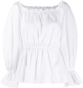Pinko long-sleeve flared blouse